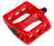 Odyssey Twisted PC Pedals In Red at Albe's BMX Bike Shop
