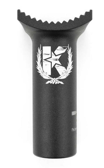Kink Small Pivotal Seat Post in black at Albe's BMX Bike Shop