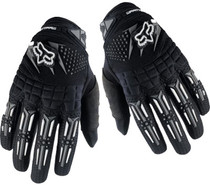 Fox Dirtpaw Gloves in Black at Albe's BMX