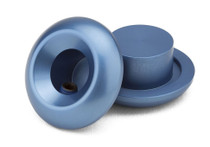Kink Lightest Bar Ends in Sonic Blue at Albe's BMX