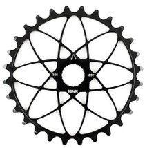 Kink Astro Spline Drive Sprocket in black at Albe's BMX
