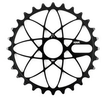 Kink Astro bolt drive sprocket in black at Albe's BMX Bike Shop