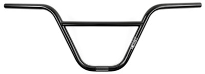 Kink Rex BMX Handle Bars in Black at Albe's BMX Bike Shop