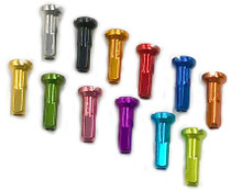 Alloy Nipples in many colors at Albe's BMX Bike Shop