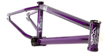 S&M Dagger BMX Park Frame in Purple at Albe's BMX