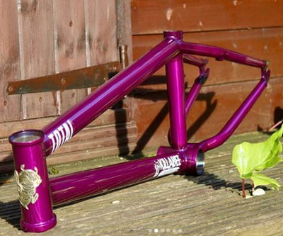 Total BMX Killabee K3 BMX Frame in Purple at Albe's BMX Bike Shop