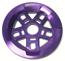 Merritt Pentaguard Sprocket in Purple at Albe's BMX