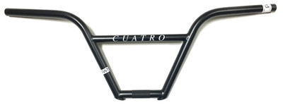 Cult Cuatro 4 piece BMX Handle Bars in Black at Albe's BMX