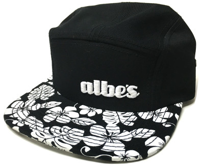 Albe's Hawaiian Camper Hat at Albe's BMX