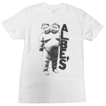 Albe's Two Headed Baby t-shirt in white at Albe's BMX