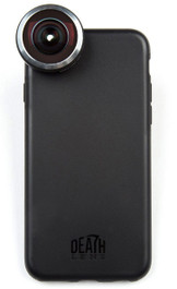 Death Lens iPhone Pro Kit Fisheye lens and case available at Albe's BMX