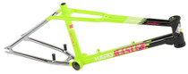Haro 2017 Lineage Team Master Frame in Neon Yellow at Albe's BMX