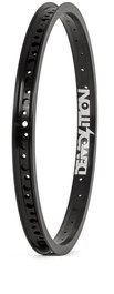 Demolition Zero BMX Bike Rim in Black at Albe's BMX Bike Shop Online