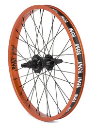 Rant Moonwalker II Freecoaster Wheel in Orange at Albe's BMX Bike Shop