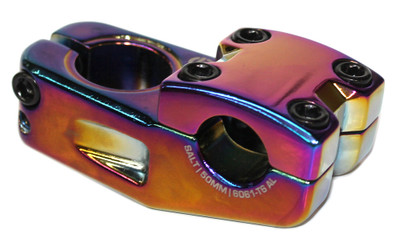 Salt Am V.2 Top Load Stem in Oil Slick at Albe's BMX Bike Shop