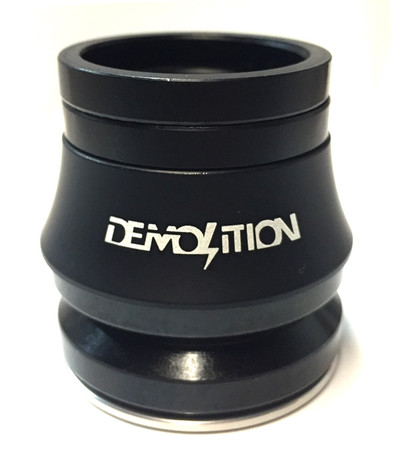 Demolition V2 Integrated Headset in Black at Albe's BMX Bike Shop