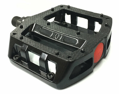 S&M 101 Alloy BMX Pedals in Black at Albe's BMX Bike Shop Online