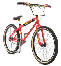 SE Bikes 2018 OM Flyer 26 inch BMX Bike in red at Albe's BMX Bike Shop