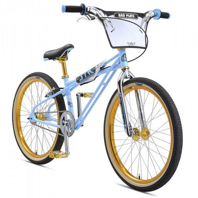SE Bikes Stu Thompsen STR 24 Quadangle 2018 bike in Blue at Albe's BMX Bike Shop