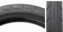 BSD Donnastreet BMX Tire in Black at Albe's BMX Bike Shop