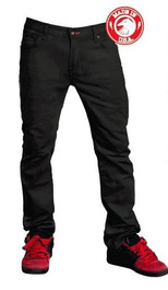 Shadow Vultus Skinny Jeans in Black at Albe's BMX Bike Shop Online