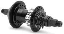 Cult Crew Freecoaster BMX rear hub in black at Albe's BMX