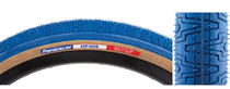 Panaracer HP406 BMX Freestyle Tire in Blue at Albe's BMX Bike Shop Online