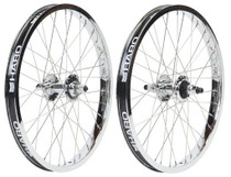 Haro Lineage Super Pro Wheel in in 36 spoke chrome at Albe's BMX Bike Shop