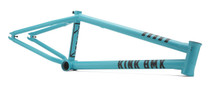 Kink Titan 2 BMX Frame in Turquoise at Albe's BMX Bike Shop