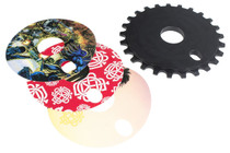 Odyssey Discogram Sprocket with decals at Albe's BMX