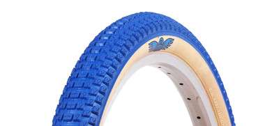 SE Racing Cub tire by Vee Rubber in Blue at Albe's BMX