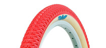 SE Racing Cub tire by Vee Rubber in Red at Albe's BMX