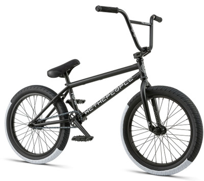We The People Reason 2018 BMX Bike in Black at Albe's BMX Bike Shop