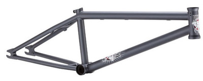 Hoffman Bama BMX Frame in Grey at Albe's BMX Bike Shop Online