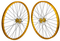 SE Racing 26 inch BMX Wheel Set in Gold at Albe's BMX bike Shop Online