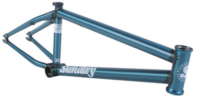 Sunday Bikes Street Sweeper Frame in Teal at Albe's BMX Bike Shop