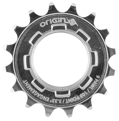 Origin8 Hornet 108 Performance freewheel in chrome at Albe's BMX Bike Shop