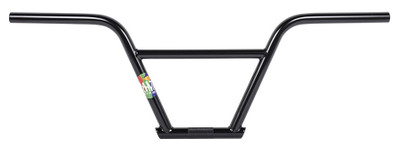 Rant Nsixty  4 piece BMX Handle Bars in Black at Albe's BMX Bike Shop