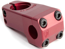 S&M Shredneck stem in red at Albe's BMX Bike Shop
