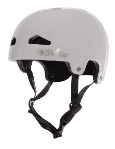 Shadow Featherweight Helmet in white at Albe's BMX Bike Shop