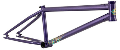 Fly Bikes Aire BMX frame in Purple at Albe's BMX Bike Shop