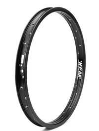 Mission Mylar 18 inch rim in black at Albe's BMX Bike Shop