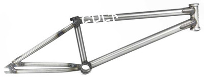 Cult Chase Dehart Frame in Raw Color at Albe's BMX Bike Shop