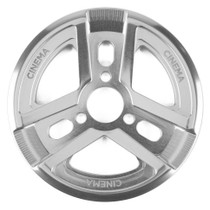 Cinema Reel Sprocket in silver at Albe's BMX Bike Shop Online