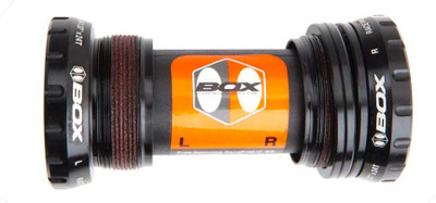 Box Extremum External Bottom Bracket in black at Albe's BMX Bike Shop Online