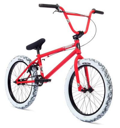 Stolen Bikes Stereo 2019 Bike in Black and Red at Albe's BMX Bike Shop