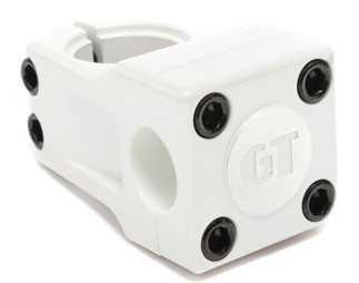 GT Mallet stem in White at Albe's BMX Bike Shop Online