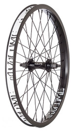Volume Foundation Front wheel in black at Albe's BMX Bike Shop Online