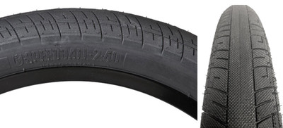 S&M Speedball Tire in Black at Albe's BMX Bike Shop Online
