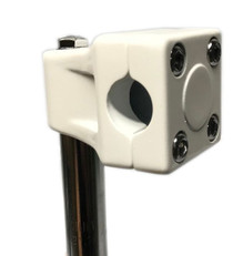 GT Mallet Style Quill BMX Stem in White at Albe's BMX Bike Shop Online